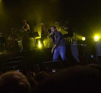 Stockholm Jazz Festival - Kanye West performing at the Stockholm Jazz Festival in 2006.