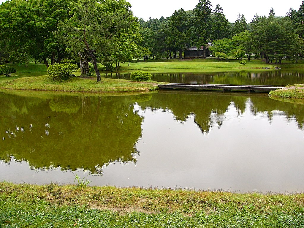 Kanzizaiouin garden HIRAIZUMI