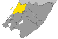Kapiti Coast District within Wellington Region.png