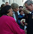 Karen Hastie Williams greets Charles Prince of Wales 2005.jpg