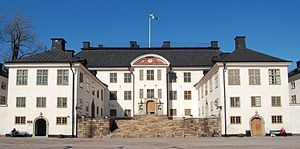 Karlberg Palace - Main building, south façade.