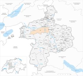 Mapa Bernu