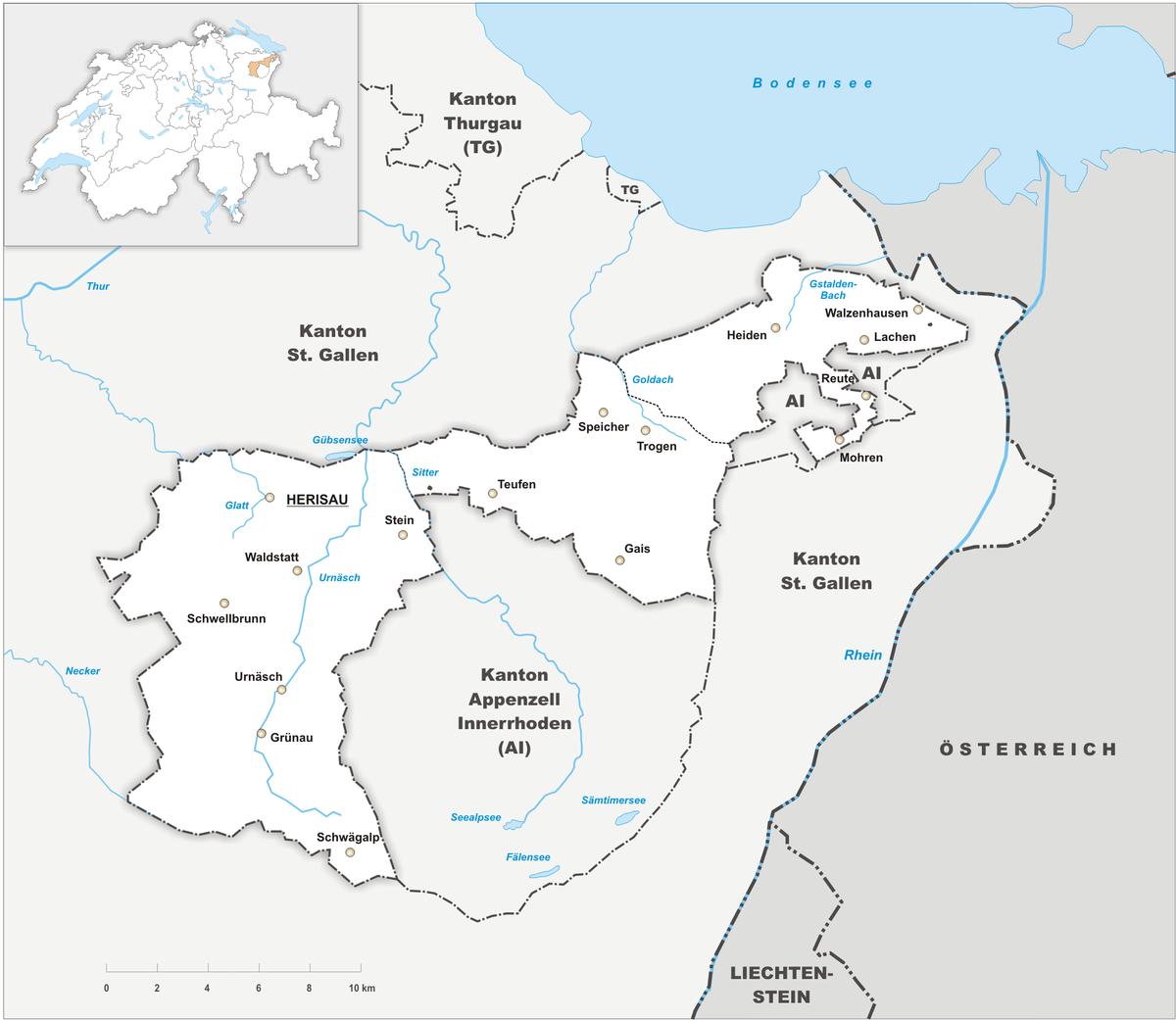 Canton of Appenzell Ausserrhoden Wikipedia