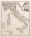 Karte von Italien. Vienna, Franz Anton Schraembl-Jean Baptiste Bourguignon d'Anville , 1788.png