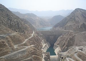 Construction industry of Iran - Image: Karun 3 Dam
