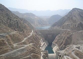 Construction industry of Iran - Image: Karun 3 Dam