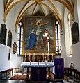 Kath. Pfarrkirche hl. Jakobus major und Friedhof mit Karner 01.jpg