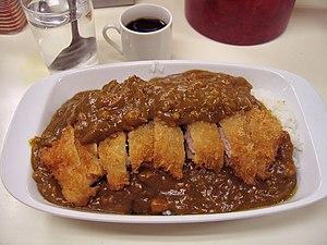 Japanese curry - Katsu karē from Jinbōchō, Tokyo