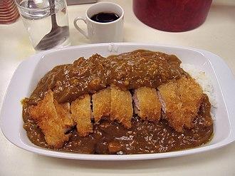 Tonkatsu - Image: Katsu curry by luckypines