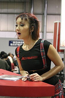 Katsuni at AVN Adult Entertainment Expo 2004.jpg