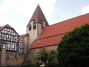 "Kaufungen Abbey - Abbey church (""Stiftskirche""), Kaufungen"