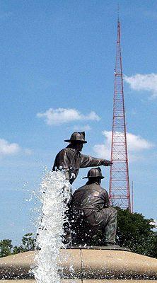 Landmark KCTV-TV Tower on West 31st on Union Hill