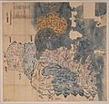 Keichō Kuniezu - Bungo Province (preparatory drawing) (Usuki Historical Museum).jpg