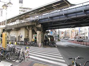 Shim-Mikawashima Station - Image: Keisei Shinmikawashima sta 001