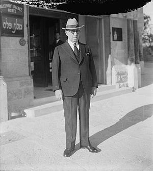 1929 Palestine riots - Jerusalem commissioner Edward Keith-Roach