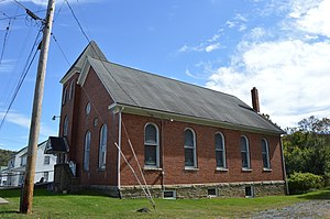Brave, Pennsylvania - Kents Chapel United Methodist Church