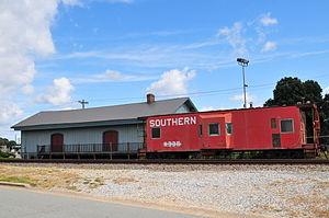 Kernersville Depot - Kernersville Depot, September 2013
