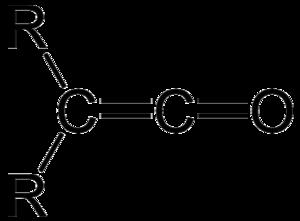 Ketene - General formula for a ketene.