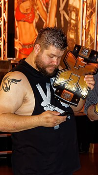Kevin Owens, wrestler, March 2015.jpg