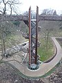 Kew Gardens. Lift and staircase to the Treetop Walkway - geograph.org.uk - 1179800.jpg