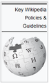 Key wikipedia policy guidelines book logo.png