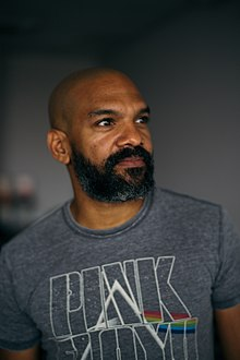 Khary Payton, at MCM London Comic Con, May 2018.jpg