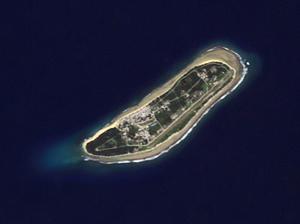 Kili Island - NASA Astronaut Photography image of Kili Island