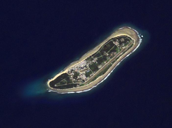 Kili Island - NASA Astronaut Photography