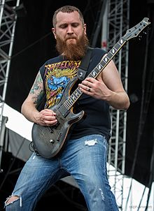 Killswitch Engage, San Antonio, Texas, 2014 (14716162989).jpg