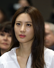 Claudia Kim - the cool, beautiful,  actress  with South-Korean roots in 2017