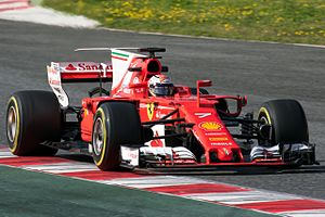 Kimi Raikkonen 2017 Catalonia test (27 Feb-2 Mar) Day 4 2