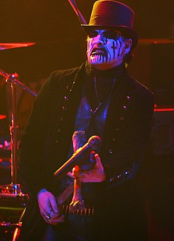 King Diamond in concerto a Mosca (2006)