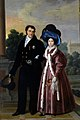 King Ferdinand VII and Queen Maria Christina of Spain.jpg