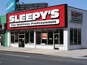 Sleepy's - A Sleepy's store in Brooklyn, New York; opened in 1975