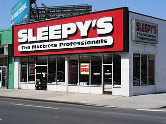 Sleepy's - A Sleepy's store in Brooklyn, New York, opened in 1975