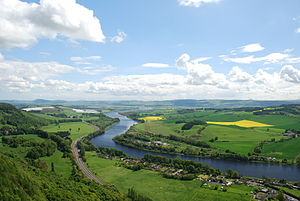 River Tay - View from Kinnoull Hill