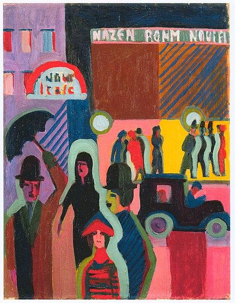 File:Kirchner - Kaufhaus im Regen -  1926-27.jpg
