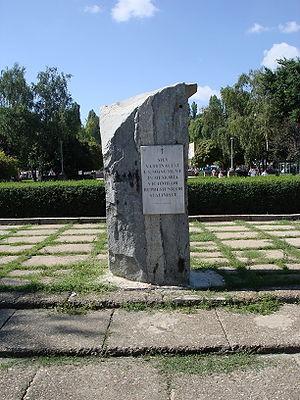 Memorial to Victims of Stalinist Repression - Image: Kishinev pamiatnik stalinskim represiam