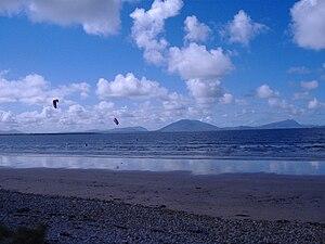 Doohoma - Image: Kitesurfing at claggan, eris