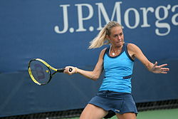 Klára Zakopalová at the 2010 US Open 01.jpg