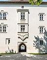Klagenfurt Viktring Stift Praelatur Portal und Erker 08062015 4590.jpg