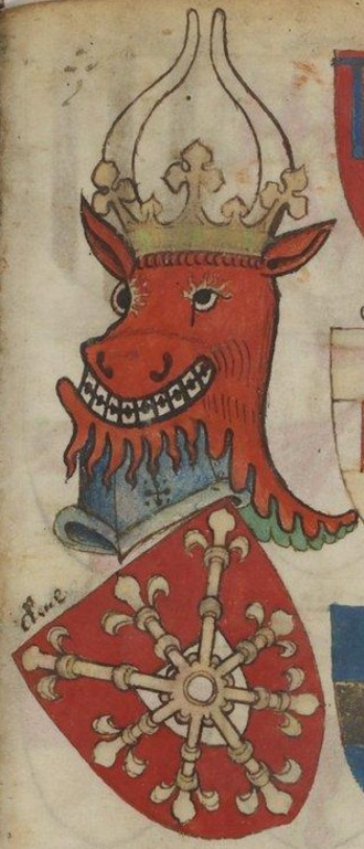 Duchy of Cleves - Old Cleves family coat of arms