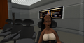 Klingon female, USS Eclipse, Second Life.png