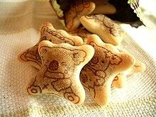 乐天小熊饼