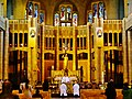 Koekelberg Basilique Nationale Sacré-Coeur Innen Chor 2.jpg