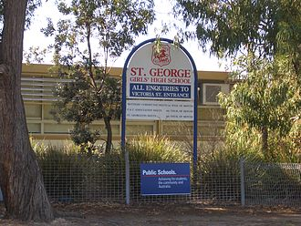 St George Girls High School - St George Girls High School