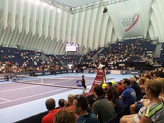 L'Àgora - L'Àgora, with the tennis configuration.