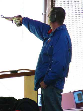Shooting sports - Image: Kokorev Munich 07 50m event
