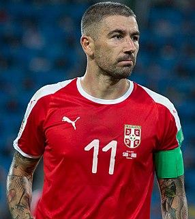 Aleksandar Kolarov Serbian footballer