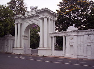 Raj Bhavan (West Bengal) - Arched Gate of the Raj Bhavan